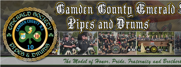 Camden County Emerald Society Pipes and Drums